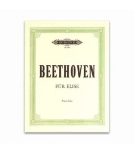 Livro Edition Peters EP7097 Beethoven para Elisa