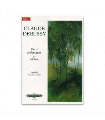 Livro Edition Peters EP7259 Debussy 2 Arabesques