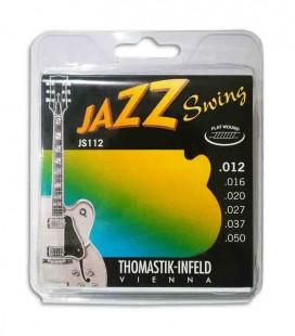 Jogo de Cordas Thomastik 012 Jazz Swing Guitarra El辿trica JS 112