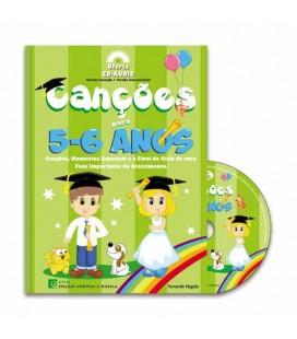 Livro ECM Canções dos 5 aos 6 Anos