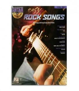 Livro Play Along Guitar East Rock Songs HL00700177