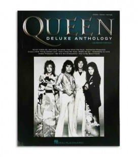 Livro Music Sales HL002278683 Queen Deluxe Anthology