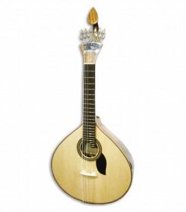 Guitarra Portuguesa Artimúsica 70075TP 2 Frisos Coimbra Tampo Pinho