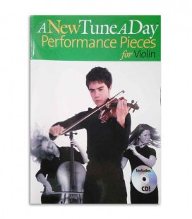 A New Tune a Day for Violin Perform Book CD