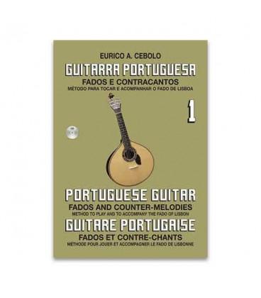 Livro Eurico Cebolo GP1 M辿todo de Guitarra Portuguesa 1 com CD