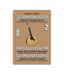Livro Eurico Cebolo GP2 Método Guitarra Portuguesa 2 com CD