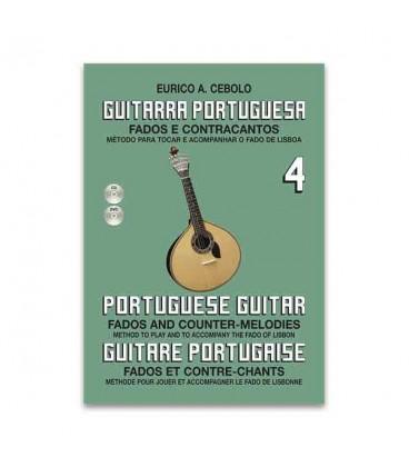 Eurico Cebolo GP4 M辿todo Guitarra Portuguesa com CD