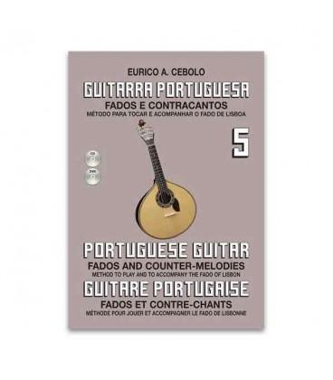 Eurico Cebolo GP5 M辿todo Guitarra Portuguesa com CD