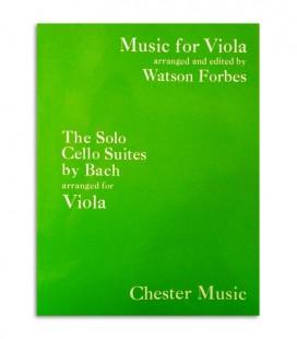 Livro Bach Suites Originais de Violoncelo para Viola de Arco CH01401