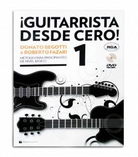Livro Método Begotti e Fazari Guitarrista Desde Cero com DVD MB602