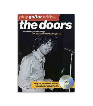 Livro Music sales AM972774 Play guitar with Doors