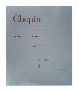 Livro Chopin Estudos Opus 10 a 25 HN124