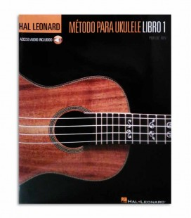 Contracapa do livro Hal Leonard M辿todo para Ukulele Volume 1