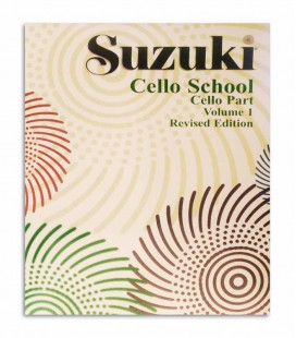 Contracapa do livro Suzuki Cello School Vol 1 EN MB41