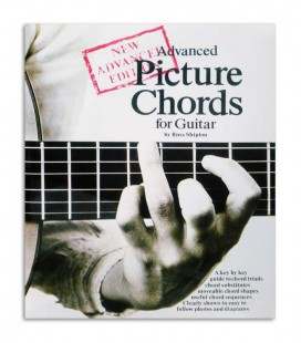 Livro Advanced Picture Chords for Guitar AM25040
