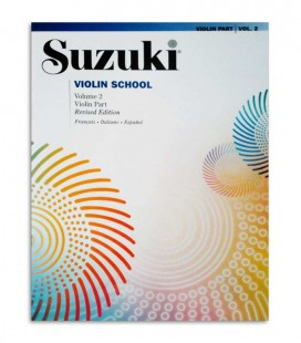 Livro Suzuki Violin School Vol 2 FR IT ES MB38