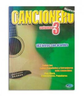 Livro El Cancionero Letras y Acordes Vol 3 ML2717