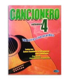 Livro El Cancionero Letras y Acordes Vol 4 ML2886