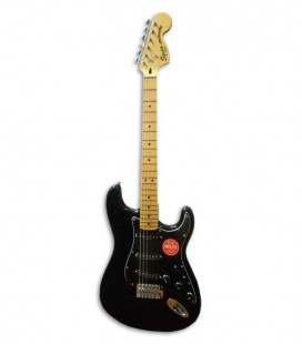 Guitarra Elétrica Fender Squier Vintage Modified Stratocaster 70s MN Black