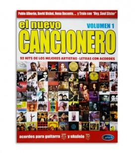 Livro Album El Nuevo Cancionero 92 Hits Acordes Guitarra y Ukulele Vol1 ML3674