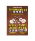 Capa do livro Guitarra M叩gica Acordes de Eurico Cebolo