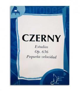 Livro Czerny Estudos de Pequena Velocidade Opus 636 EMC341226
