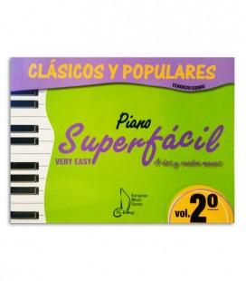 Livro Clássicos e Populares para Piano Super Fácil Vol 2 EMC341235