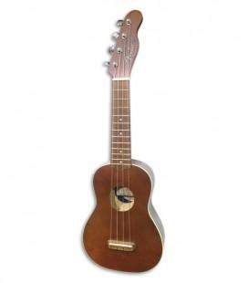 Ukulele Fender Soprano Venice Natural Walnut