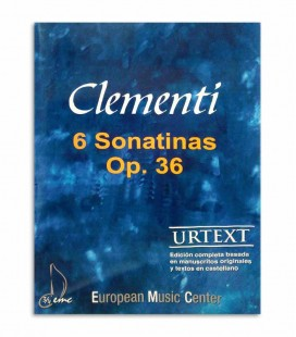 Livro Clementi 6 Sonatinas Op 36 EMC341255