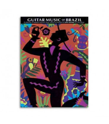 Livro Guitar Music Of Brazil Popular Brazilian Music CH61421
