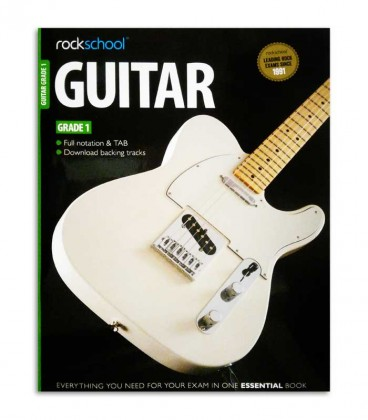 Capa do livro Rockschool Guitar Vol 1