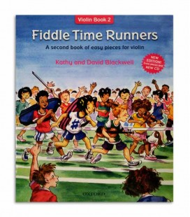 Livro Blackwell Fiddle Time Runners Book 2 com CD OXF32282