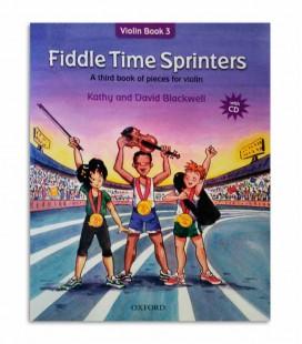 Livro Blackwell Fiddle Time Sprinters Book 3 com CD OXF32283