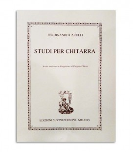 Livro Carulli Estudos para Guitarra ESZ6745