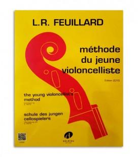 Capa do livro Feuillard Método Jovem Violoncelista J3102