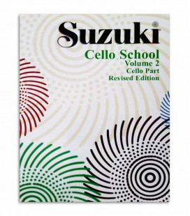 Capa do Livro Suzuki Cello School Vol 2 EN MB42