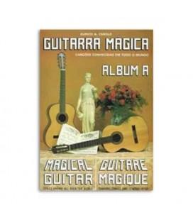 Livro Eurico Cebolo GTM Alb A Método Guitarra Mágica Álbum A com CD