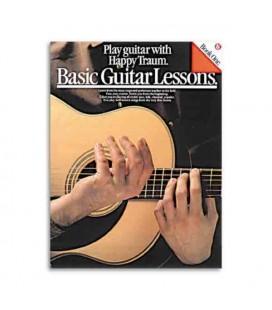 Livro Music Sales AM34901 Basic Guitar Lessons Book 1