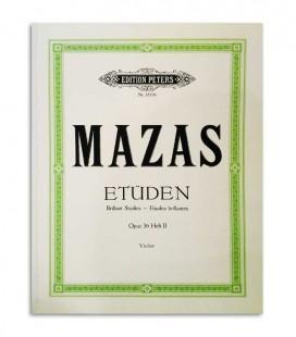 Mazas Etuden Opus 36 Violino Peters