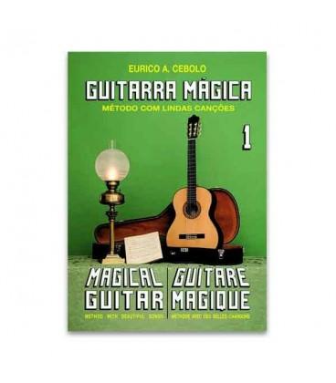 Eurico Cebolo GTM1 M辿todo Guitarra M叩gica No 1 com CD