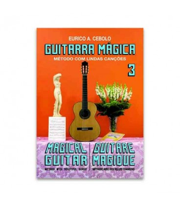 Eurico Cebolo GTM 3 M辿todo Guitarra M叩gica No 3