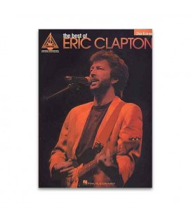 Livro Music Sales AM941117 Eric Clapton The Best Of