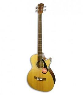 Guitarra Baixo Eletroacústico Fender Classic CB 60SCE Natural