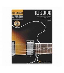 Livro Guitar Method Blues Guitar HL00697326