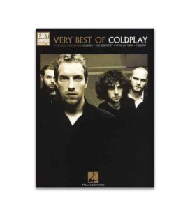 Livro Music Sales HL00702291 Coldplay Very Best Easy Guitar