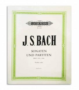 Bach Sonatas e Partitas para Violino BWV 1001 1006 Peters