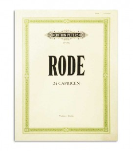 Rode 24 Caprichos para Violino Peters