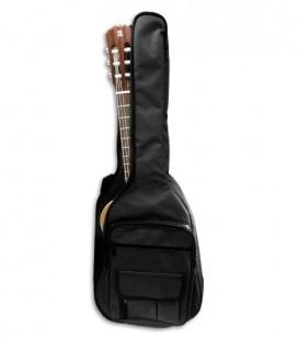 Saco Ortol叩 453 32B Nylon para Guitarra Cl叩ssica 3/4 Almofadado 10mm com Mochila