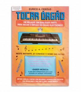 Livro Eurico Cebolo Tocar Órgão com CD T ORG