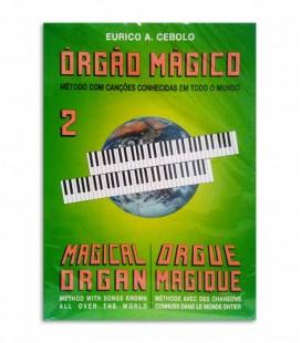 Livro Eurico Cebolo OM 2 Método Órgão Mágico 2